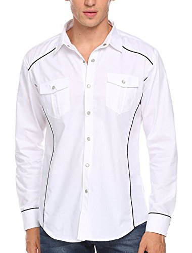 dress shirts untucked with jeans - 3