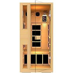JNH Lifestyles NE1HB1 ENSI Collection 1 Person NO EMF Infrared Sauna Limited