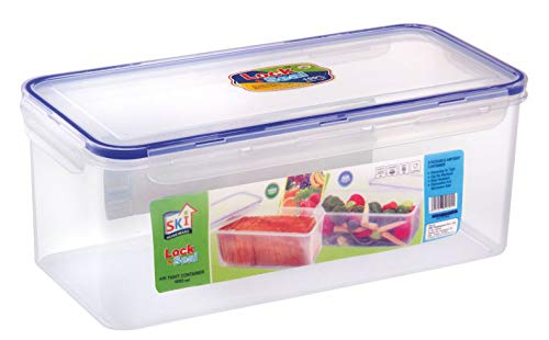 Naksh Enterprise Lock & Seal 1 Airtight Storage Box for Kitchen and Home Space Saver Container; Bread Container Pack of…