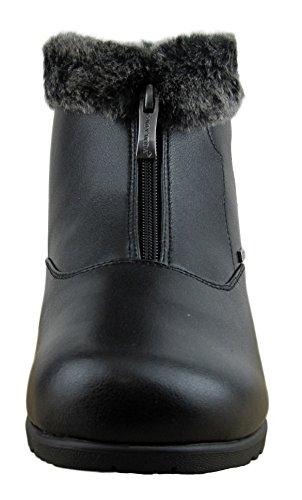 Comfy Moda Women's Winter Snow Boots London (10, Black) by Comfy Moda (Image #1)