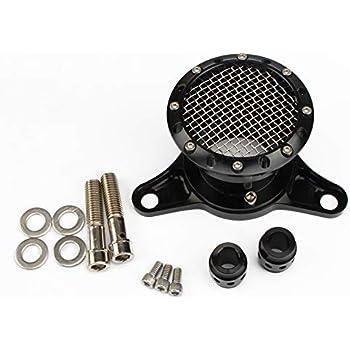 Honda CB350 CB360 CB450 CB500T Cafe Black Motorcycle Velocity Stack 50mm