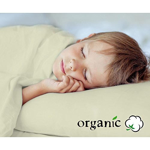 100% Organic Toddler Sheet Set includes Eco Pillow Toddler size by AB Lifestyles