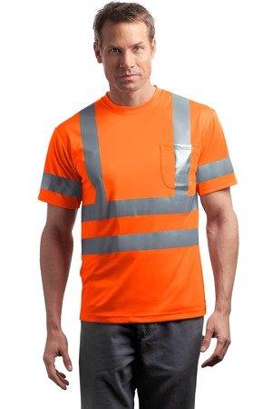CornerStone Red Kap - Short Sleeve Reflective T-Shirt>S Safety Yellow CS408 by Cornerstone