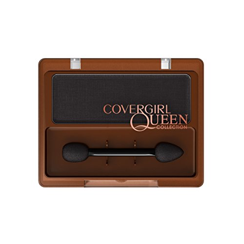 CoverGirl Queen Collection 1-Kit Eye Shadow, Black Tie, 0.004 Pound