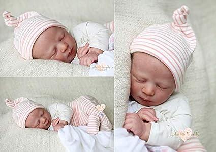 Realborn Alexa Reborn Puppen Teile Set schlafend, 48, 3 cm