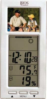 National Geographic Digital Photo Frame Thermometer For Sale