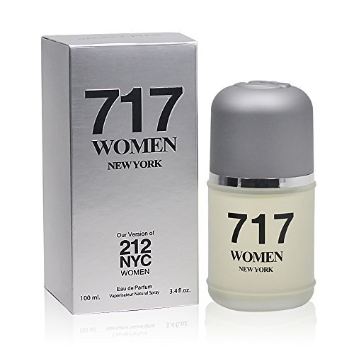 747 NYC WOMEN, Our Version of 212 BY CAROLINA HERRERA,Eau de Parfum Spray for Women, Perfect Gift, Light Floral Fragrance,Night time & Casual Use, for all Skin Types,3.4 Fl Oz