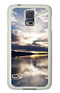 Samsung Galaxy S5 Cases & Covers - Clouds Reflection PC Custom Soft Case Cover Protector for Samsung Galaxy S5 - White