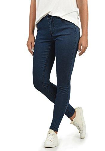 L30 Jenna Skinny Vero Color Dark Vaquero Jeans tamaño Rise Blue Moda L Elastico Fit Denim Mid Tejano Mujer para wBZBPRqx