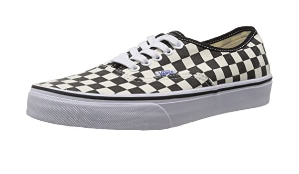 1b49e70d55e60b Vans Unisex Authentic (Golden Coast) Black White Checkerboard Skate Shoe 4  Men US   5.5 Women US