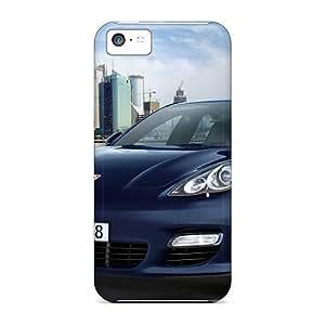 NikRun Case Cover For Iphone 5c - Retailer Packaging 2010 Porsche Panamera 9 Protective Case