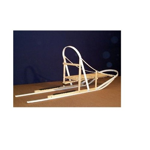 JNA Dasher Wooden Snow Dog Sled Wood Kicksled by Affordable