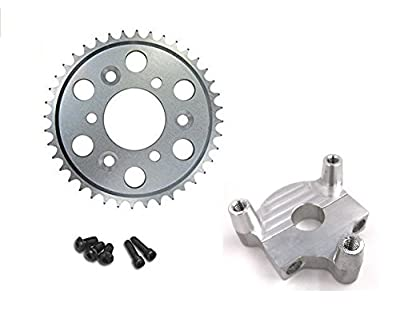 """Hub Adapter 1"""" and 44T sprocket - for 2 stroke engine kit"""