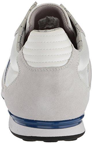 outlet nicekicks get to buy sale online Hugo Boss Akeen Men's Sneakers In Open Blue (50247604-460) White clearance get to buy BtkQ2