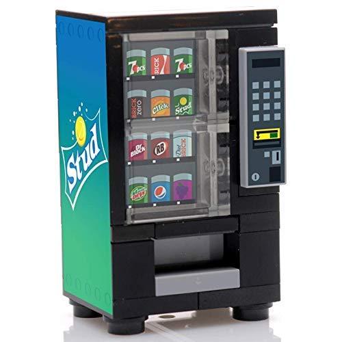 - B3 Bricks Custom Designed Stud Soda Vending Machine for Minifigures