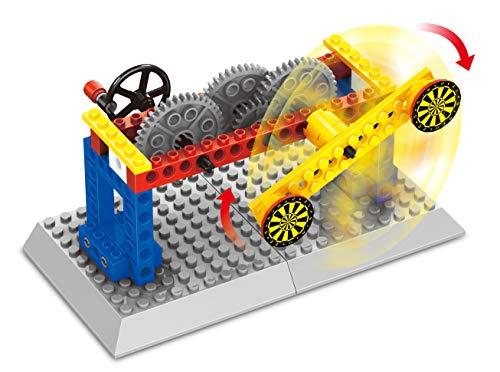 Fat Brain Toys Brain Bricks Mechanics: Gear Kinetics Building & Construction for Ages 6 to 8