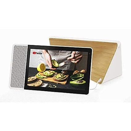 Lenovo Smart Display IPS Touchscreen Octa-Core 4GB eMMC Webcam WiFi Android (Bamboo 10