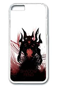 iPhone 6 plus Case, 6 plus Case - Clear Thin Fit Hard Case Cover for iPhone 6 plus Shadow Fiend Dota 2 Art Anti-Scratch Crystal Clear Hard Case Bumper for iPhone 6 plus 5.5 Inches