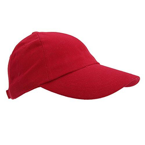 Result - Gorra/Visera Unisex Modelo Pro-Style - 100% Algodón de Primera Calidad Imprimir/Estampar Rojo