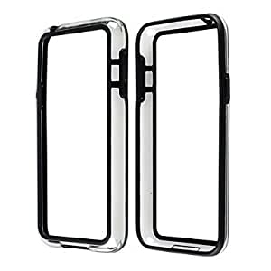 qyf Protective TPU and PC Bumper Frame for Samsung Galaxy S5 Mini (Assorted Colors) , Black