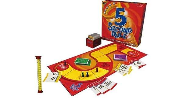 5 Segundo Juego Regla.: Amazon.es: Juguetes y juegos