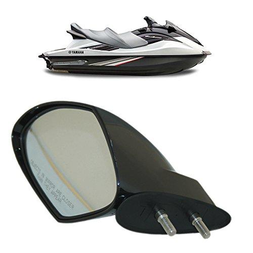 Motobiker 1pcs Yamaha OEM PWC 2005-2009 WaveRunner Left Hand Mirror VX110, Deluxe, Cruiser, Sport,F1S-U596B-10-00 ()