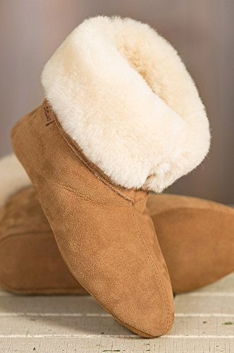 Women's Overland Lily High-Top Sheepskin Slippers by Overland Sheepskin Co (Image #2)
