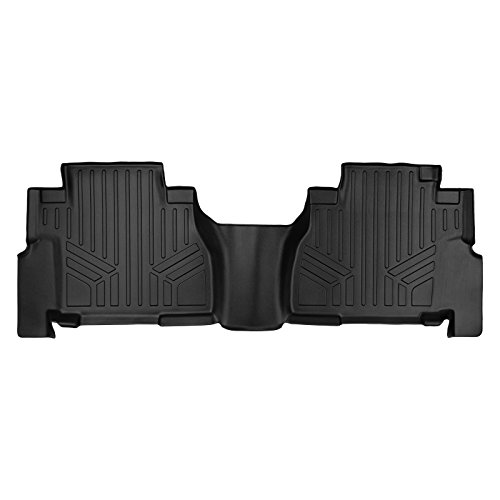 (MAX LINER B0272 Custom Fit Floor Mats Liner Black for 2008-2019 Toyota Sequoia with 2nd Row Bench Seat )