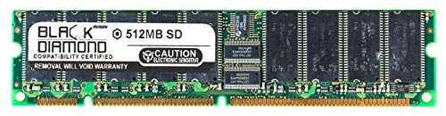 - 512MB RAM Memory for Asus C Series CUV4X-DLS Black Diamond Memory Module SDRAM ECC UDIMM 164pin PC133 133MHz Upgrade