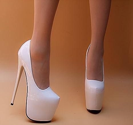economico per lo sconto 4497e cc67c XiaoGao antico super tacco 18 cm, scarpe con tacchi alti ...
