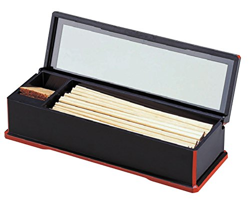 Wakaizumi lacquerware cooking lacquerware Kurobuchishu New chopstick case 1-514-1