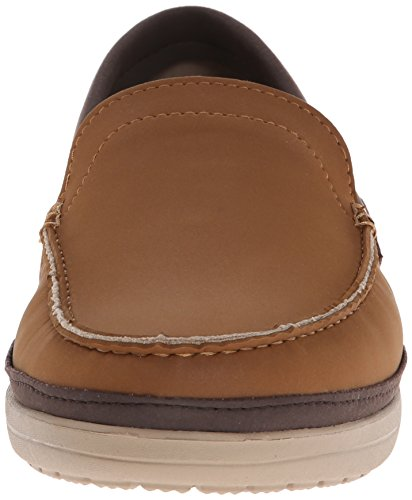 Crocs Wrap Colorlite Loafer M - Mocasines Marrone (Hazelnut/Espresso)