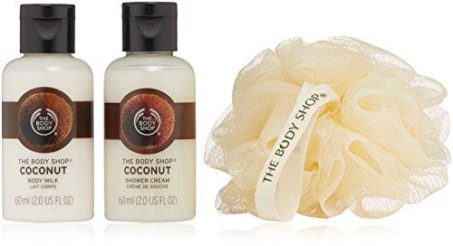 The Body Shop Coconut Treats Cube  Gift Set