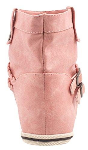 Elara Women's Schlupfstiefel Pink 3d0O0ShG