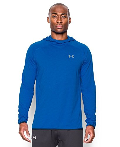 Under Armour Men's Streaker Run Hoodie, Ultra Blue (907), Small
