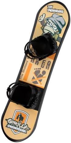 De Lux Kinder Kindersnowboard-Set, schwarz, 4260184592722