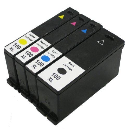 Generic  4pk Lexmark 100 #108xl NON-OEM Printer Ink Cartridge for S305 S405 S505