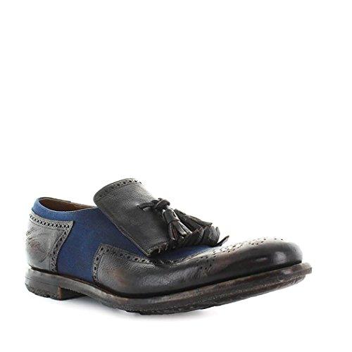 2018 Primavera Azul Hombre Zapatos Shanghai Church's 11 de Ebony Verano Mocasín rqvvnwUY8