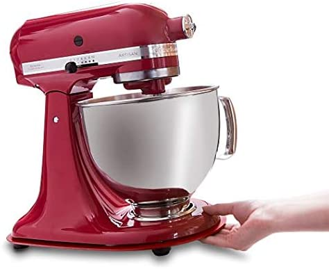 Leckerhelfer - Tabla deslizante para Kitchen aid ®, color rojo: Amazon.es: Hogar