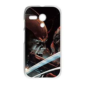 Wolverine And Deadpool Comic Motorola G Cell Phone Case White Customize Toy zhm004-3850138