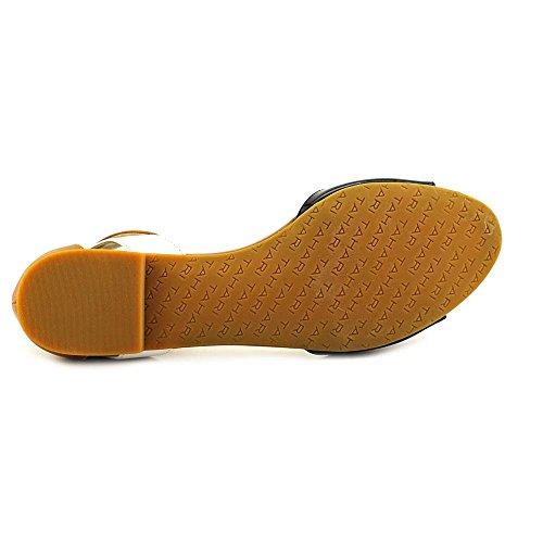 Tahari Francie Damen US 8 Schwarz Gladiator Sandale