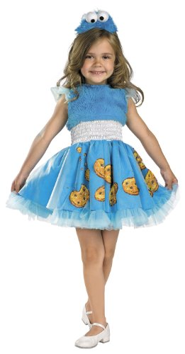 Frilly Cookie Monster Costume Toddler