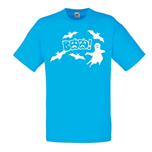 T Shirts for Men BAAA! - Funny Halloween Costume Ideas, Cool Party Outfits (Large Blue Multi Color)]()