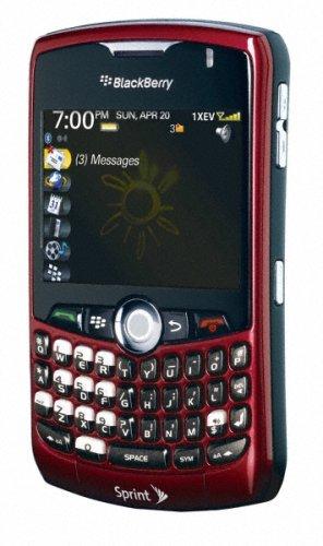 amazon com blackberry curve 8330 phone red sprint cell phones rh amazon com BlackBerry 8330 Features BlackBerry Curve 8330