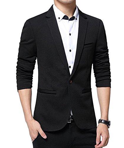 Benibos Mens Slim Fit Casual Premium Blazer Jacket