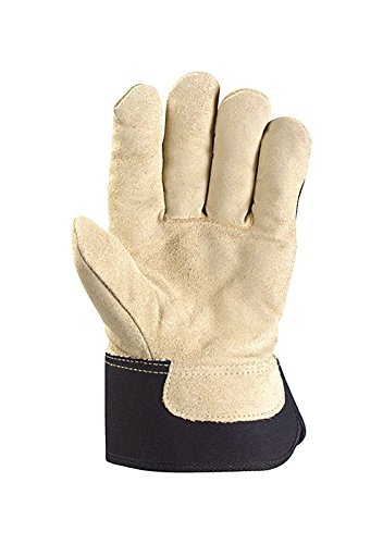 Men's Winter Work Gloves with Leather Palm