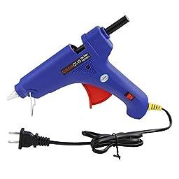 WHDZ Professional Adjustable Temperature Full Size Hot Melt Glue Gun Low Temp 100w 100v-240v Fast Heat - PDR Tools