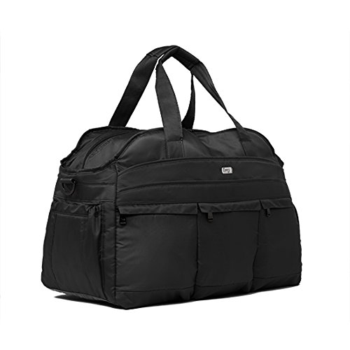 Lug Life Airbus Weekender Bag, Midnight Black
