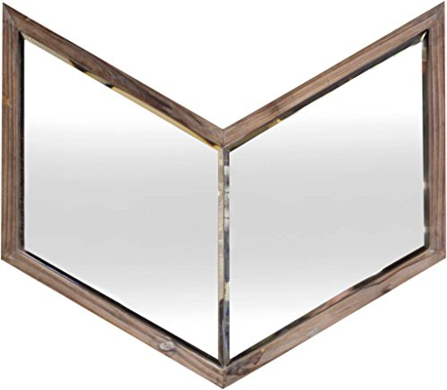 Mercana Art Decor 37261 Mirrors, Brown by Mercana Art Décor