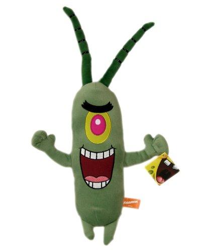 (Spongebob Squarepants Plankton Plush - Nickelodeon Spongebob Plankton Stuffed Toy (16 In))